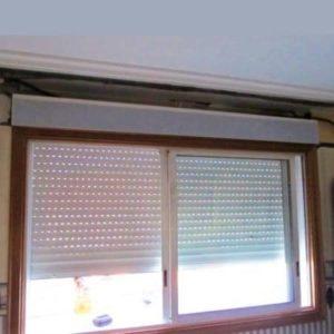 Persiana Cajon PVC lama Aluminio (Sustitución cajón de Obra)