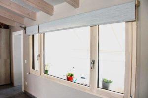 Cómo colocar estores en ventanas de aluminio